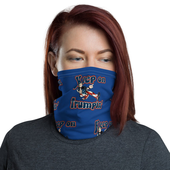 Retro Keep on Trumpin' Face and Neck Gaiter