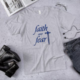 Faith Over Fear Unisex Cotton T-Shirt