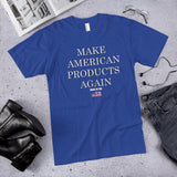 Make American Products Again Unisex Cotton T-Shirt