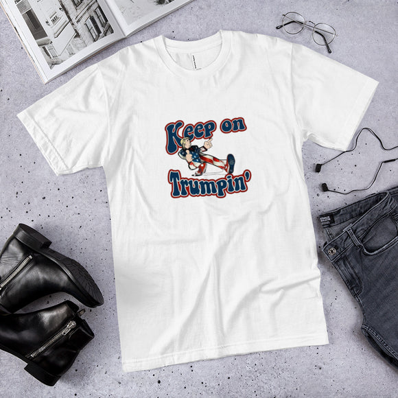 Retro Keep on Trumpin' Cotton Unisex T-Shirt