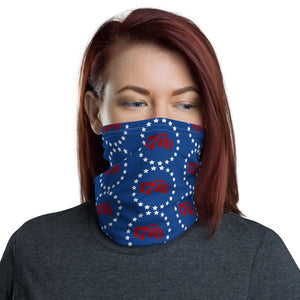 Patriotic 1776 Face and Neck Gaiter