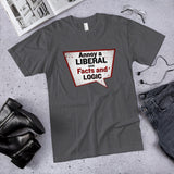 Annoy a Liberal Use Facts and Logic Cotton Unisex T-Shirt