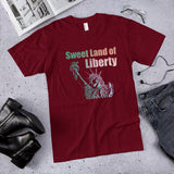 Sweet Land of Liberty  Cotton Unisex T-Shirt (Made in the USA)