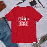 Oh Come Let Us Adore Him Unisex T-Shirt