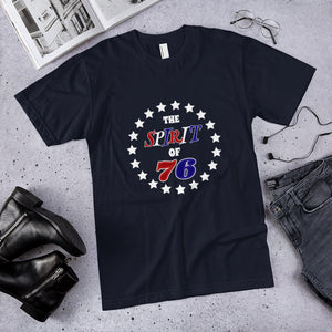 The Spirit of '76  Cotton Unisex T-Shirt