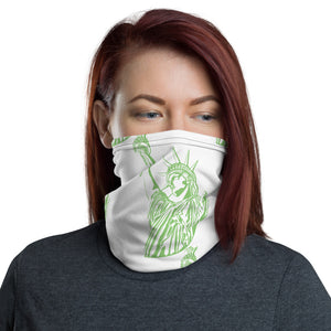 Statue of Liberty Face and Neck Gaiter