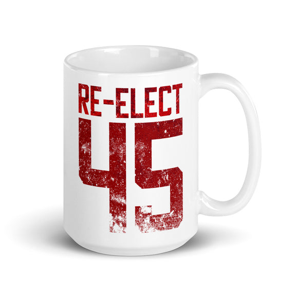 Re-Elect 45 15oz Ceramic Mug