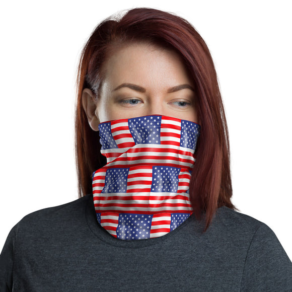 Stars and Stripes Face and Neck Gaiter