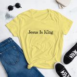 Jesus is King Women's short sleeve t-shirt