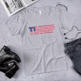 Trump Patriotic Cotton Unisex T-Shirt (Made in the USA)