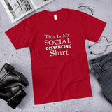This Is My Social Distancing Shirt Cotton Unisex T-Shirt