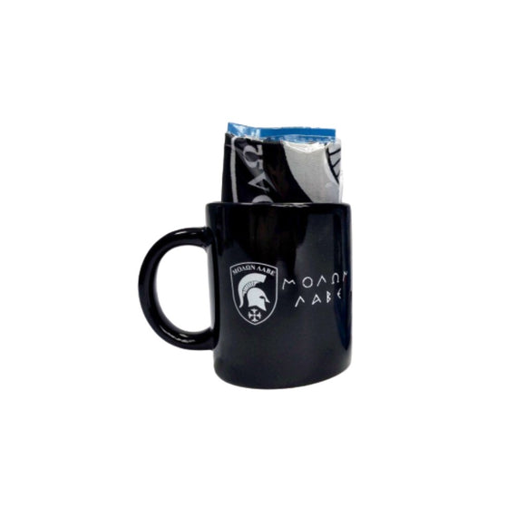 Molon Labe 12oz Ceramic Mug with 12