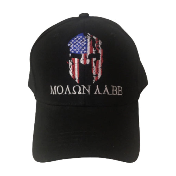 Molon Labe Patriotic Warrior Embroidered Hat