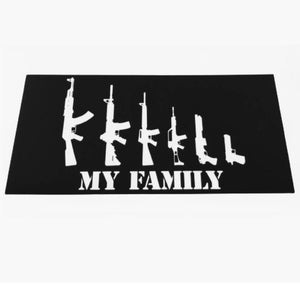 My Family 2A Sticker