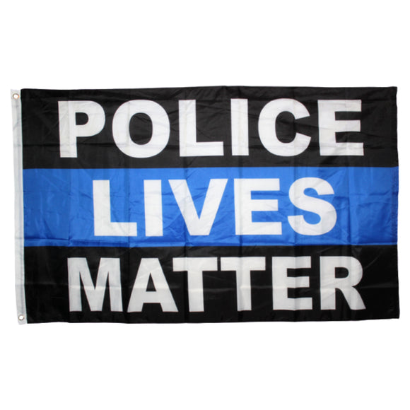 Police Lives Matter 3'x5' 150D Flag Rough Tex® Flag