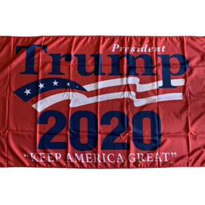 President Trump 2020 Keep America First 6'x10' 68D Rough Tex® XXXL Flag