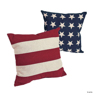 Stars and Stripes Pillow Set