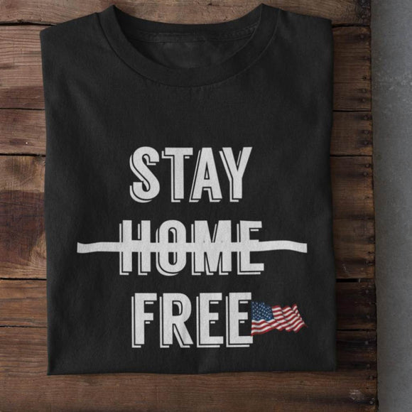 Stay Free Unisex Cotton T-Shirt
