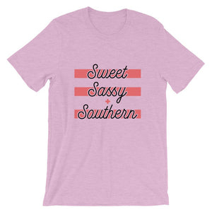 Sweet Sassy + Southern - Flag and Cross