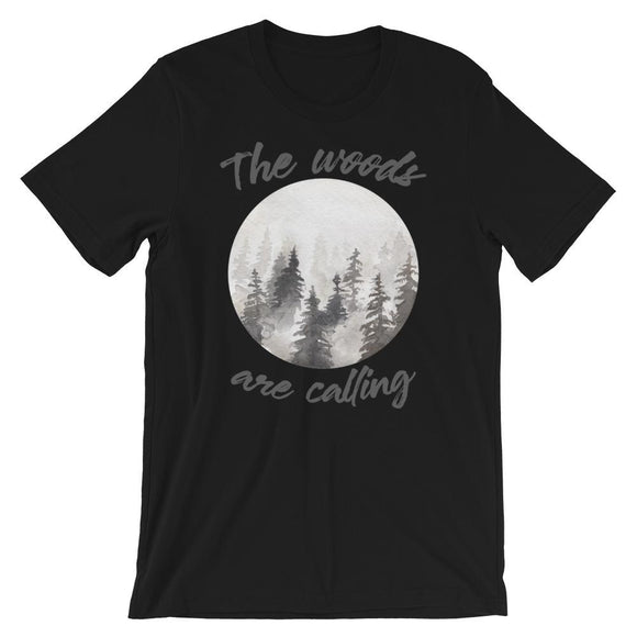 The Woods Are Calling - Flag and Cross