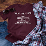 Traitor Joe's Est. 1-20-21 Where Everything is For Sale Unisex T-Shirt
