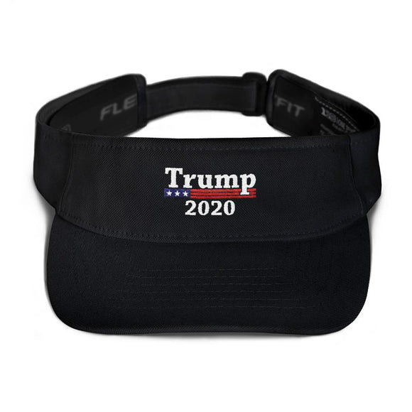 Trump 2020 Visor - Flag and Cross