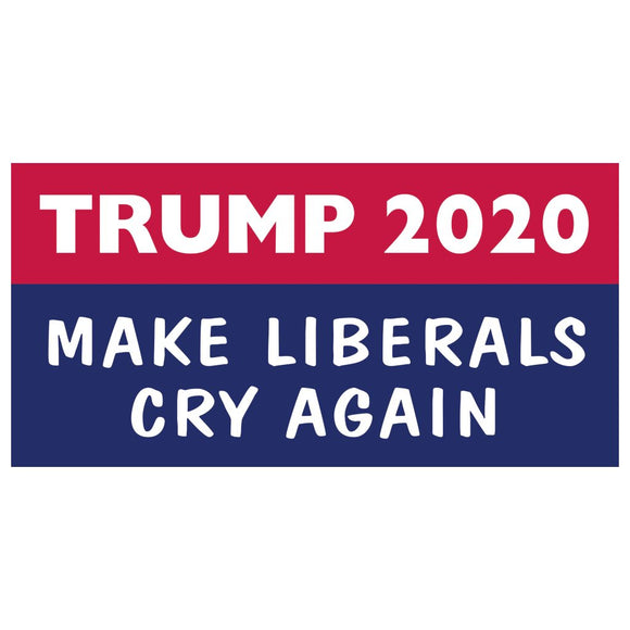 Trump 2020 Making Liberals Cry Again (Rectangle) Sticker