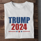 Trump 2024 Unisex Cotton T-Shirt