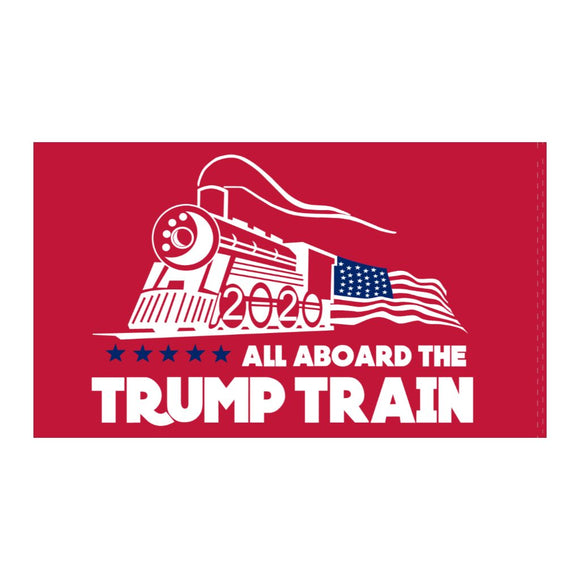 Trump Train Sticker (Red)