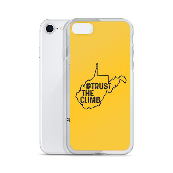 Trust The Climb WV iPhone Case - Flag and Cross