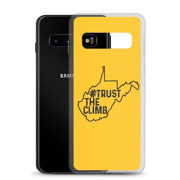Trust The Climb WV Samsung Case - Flag and Cross