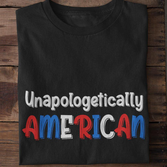 Unapologetically American Unisex T-shirt