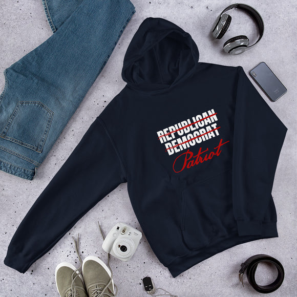 Republican Democrat - Patriot Unisex Hoodie