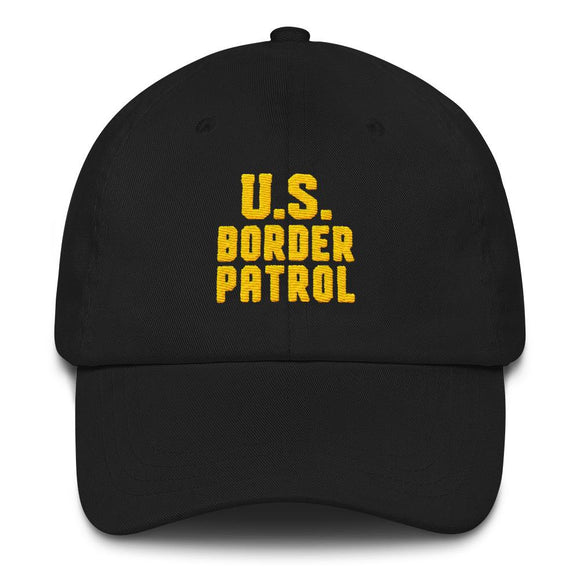 U.S. Border Patrol Hat - Flag and Cross