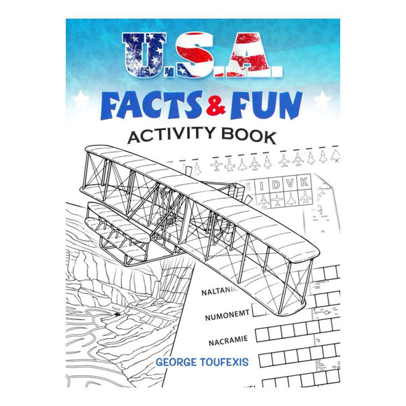 USA Facts & Fun Activity Book
