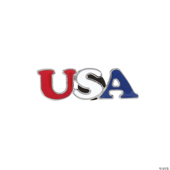 USA Enamel Lapel Pin