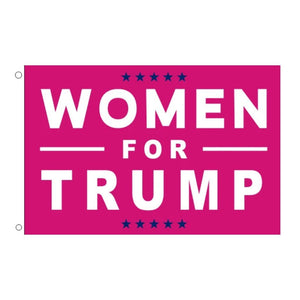 Women for Trump 3'x 5' Flag - Flag and Cross