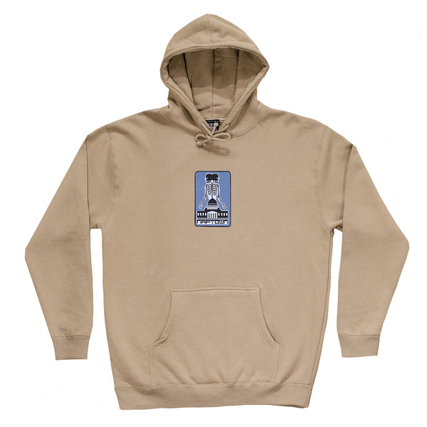 Two Headed Beast Hoodie Sand