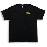 3D Circle Logo T-Shirt Black
