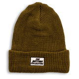 Coyote Brown Ribbed Box Beanie
