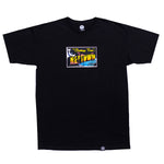 Postcard T-Shirt Black