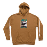 Derby Hoodie Saddle Brown
