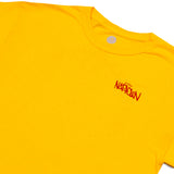 3D Circle Logo T-Shirt Yellow