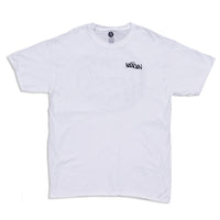 3D Circle Logo T-Shirt White
