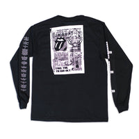 Stone Long Sleeve Shirt Black