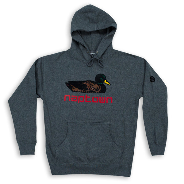 Mallard Hoodie Dark Heather Grey