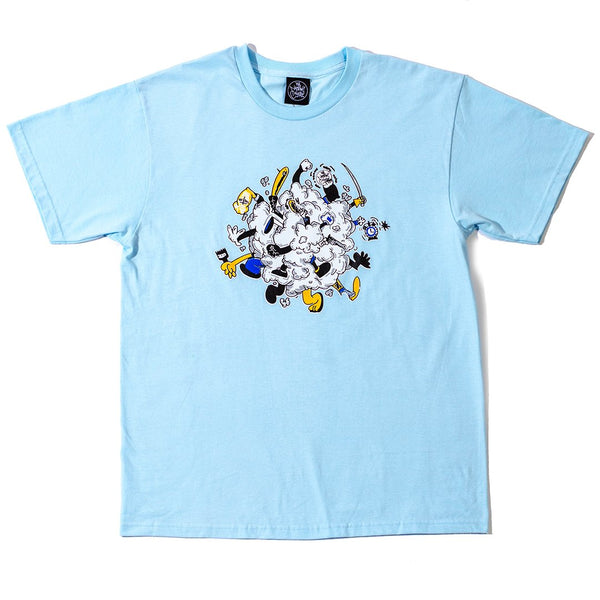Rumble T-Shirt Light Blue