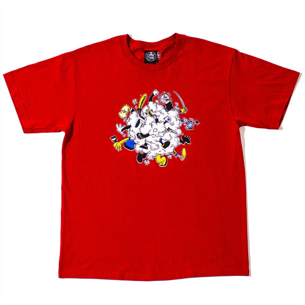 Rumble T-Shirt Red