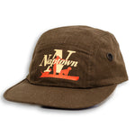 Brown 5 Panel Cap