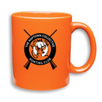 Hunting Club Coffee Cup Orange
